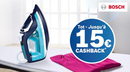 Bosch - Tot €15 cashback