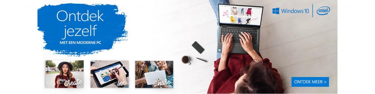 Ontdek jezelf met een modern device met Windows 10
