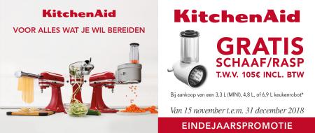 Kitchenaid - Gratis schaaf/rasp