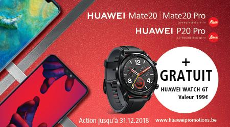 Huawei Mate 20 (Pro) | P20 Pro - Watch GT cadeau