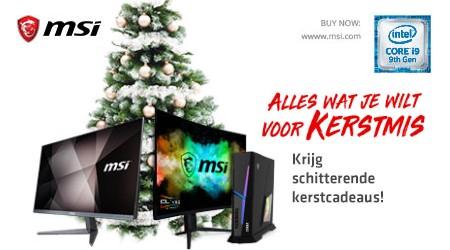 MSI - Gratis X-mas cadeau