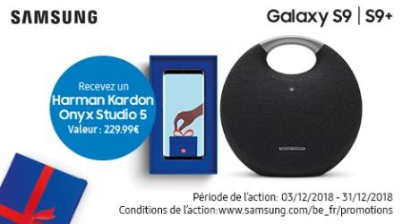 Samsung Galaxy S9(+) - Enceinte cadeau