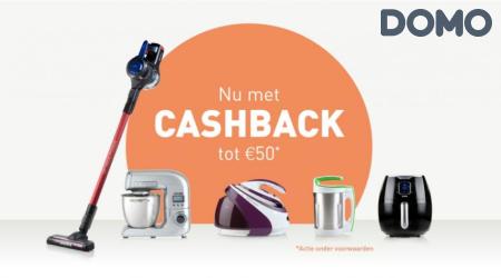 Domo - Tot €50 cashback