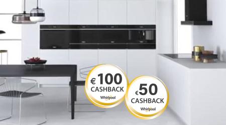 Whirlpool - Jusquà €100 cashback