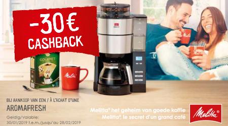 Melitta AromaFresh - €30 cashback