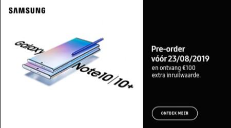 Pre-order nu de nieuwe Samsung Galaxy Note10(+)!