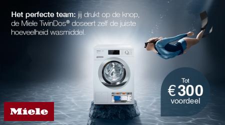 Miele TwinDos - Tot €300 voordeel