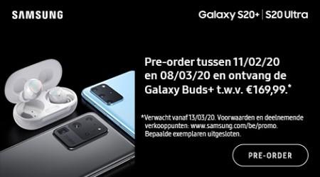 Samsung Galaxy S20+|S20 Ultra - Pre-order cadeau