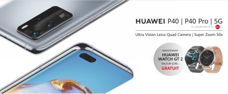 Huawei P40 (Pro) - Watch GT 2 cadeau