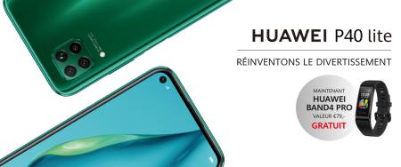 Huawei P40 Lite - Band4 Pro cadeau