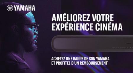 Yamaha - Jusquà €100 cashback