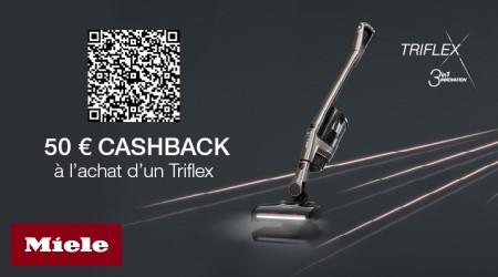 Miele Triflex - €50 cashback