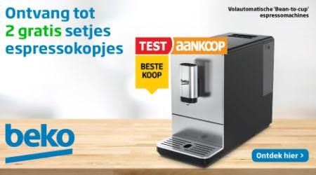 Beko - Gratis 2 setjes espressotasjes