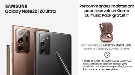 Samsung Galaxy Note20 (Ultra) - Cadeau précommande