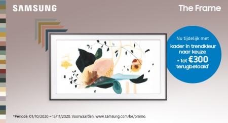 Samsung The Frame - Tot €300 cashback