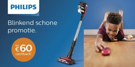 Philips - Tot €60 cashback
