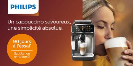 Philips - Espresso 90 jour à lessai
