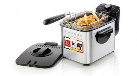 Domo Do 513 FR Friteuse DELI-Fryer XXL 5,5 L AIR CHAUD-Friteuse Friteuse do513fr