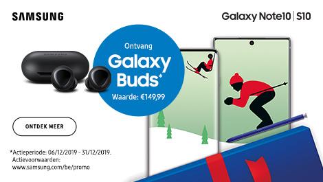 Ontvang Galaxy buds waarde €149.99