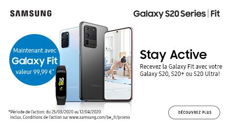Maintenant avec Galaxy Fit valeur 99.99€