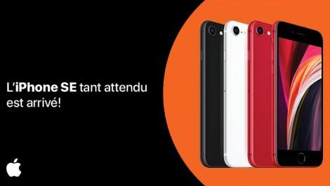 l'iPhone SE tant attendu est arrivé!