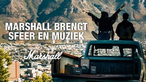 Marshall brengt sfeer en muziek in je tuin