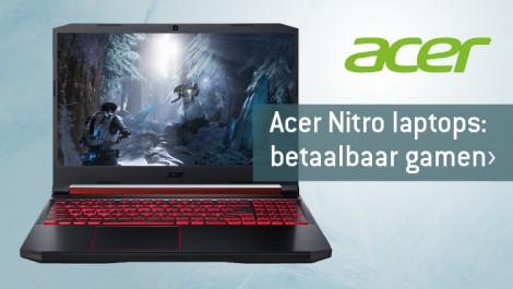 Acer Nitro laptops: betaalbaar gamen