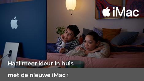 Haal meer kleur in huis met de nieuwe iMac