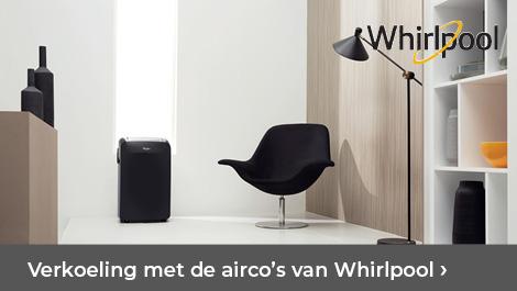 Verkoeling met de airco's van Whirlpool