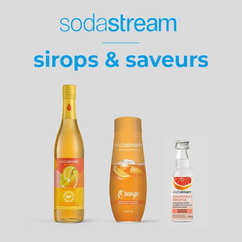 Sodastream sirops & saveurs