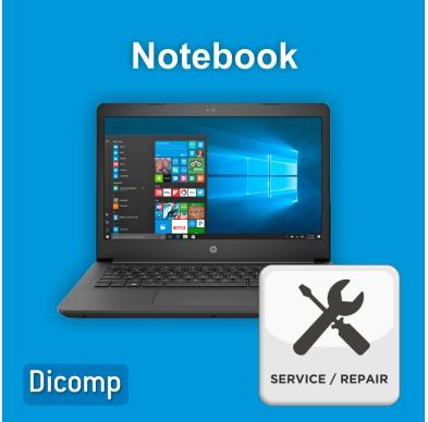 Repair - notebook