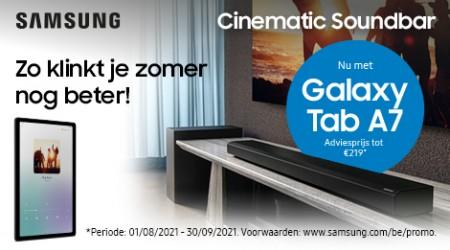 Samsung - Galaxy Tab A7 (Lite) cadeau