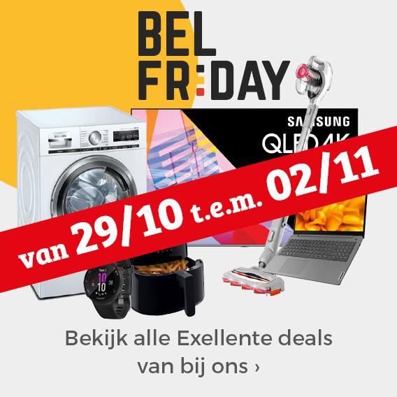 Bel Friday Deals vanaf vrijdag 29 oktober