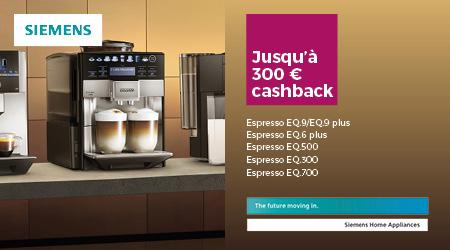 Siemens - Jusquà €300 cashback