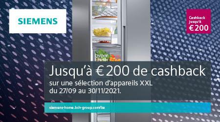 Siemens - Jusquà €200 cashback