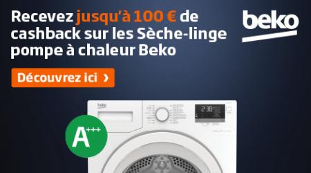 Beko - Jusquà €100 cashback