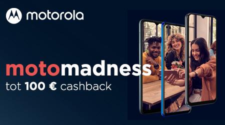 Motorola - Tot €100 cashback