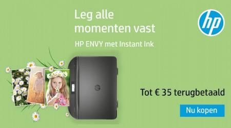HP Envy  Instant Ink - Tot €35 cashback