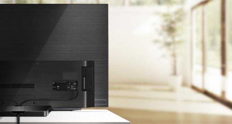 LG Oled C9 TV - verbeterde kabelbeheer