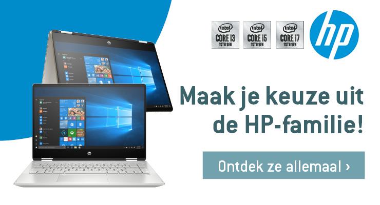 Maak je keuze uit de HP familie