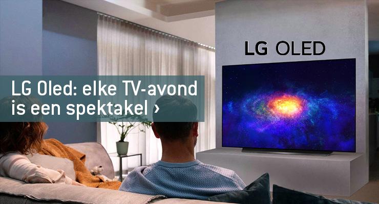 LG OLED: elke TV-avond is een spektakel