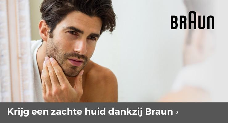 Krijg een zachte huid dankzij Braun