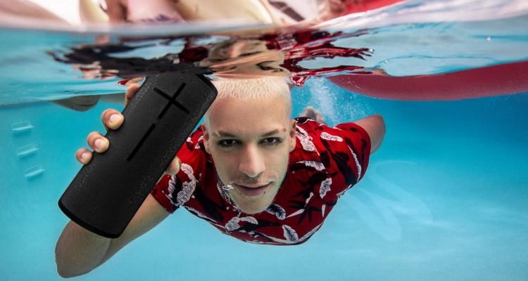 Luidspreker onder water