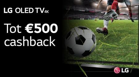 LG OLED - Tot €500 cashback