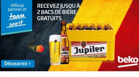 Beko - Recevez jusquà 2 bacs de bière gratuits
