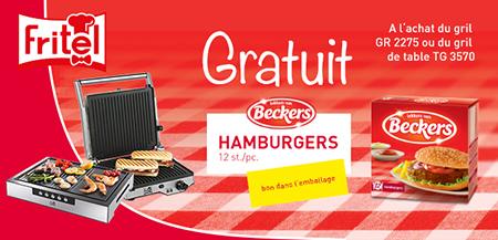 Fritel - Hamburgers de Beckers gratuit
