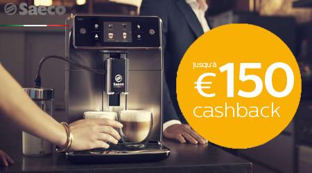 Saeco Espresso - Jusquà €150 cashback